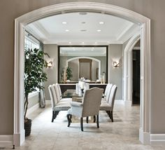 Transitional Zen by Design Guild Homes transitional-dining-room