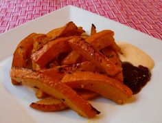 Kürbispommes #rezept #recipe #vegetarisch #vegetarian #veggie