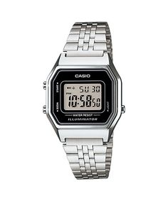 f72e0c7bb28 Relógio Casio Vintage LA680WA-1 Relógios Masculinos