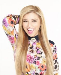 Kirstie!! She's so gorgeous I can't I just want to look like her and sing like her and be her best friend! I love her!