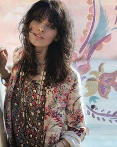 Beautiful combination - - boho - ☮k☮ Gypsy Style, Hippie Style, Bohemian Style, Style Me, Bohemian Fashion, Bohemian Clothing, Hippie Bohemian, Hippie Chic, Boho Gypsy