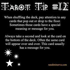 Tarot card reading tips