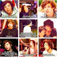 Harry Edward Styles, everyone. He's such a cupcake