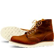 Wishlisted. A pair of these badboys. Redwing Round Toe No. 9111 Men's size 5. Women's 7.