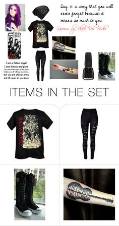 """""""Day 5"""" by kinvesandpens ❤ liked on Polyvore featuring art"""
