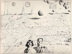 saul steinberg Cities - Google Search