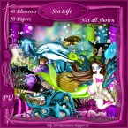 Scrapkit Sea Life