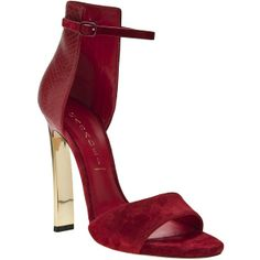 Love this: Casadei Chamois Leather Sandal Women's Shoes, Only Shoes, Cute Shoes, Me Too Shoes, Shoe Boots, Jimmy Choo, Christian Louboutin, Tom Ford, Moda Outfits