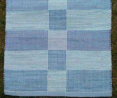 Ljusblå matta