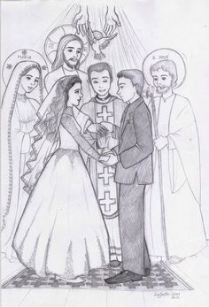 What really happens at a Catholic wedding. This is the most beautiful image of a wedding I have ever seen!