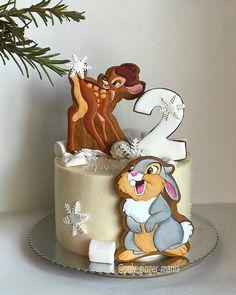 Royal icing cookies and bambi