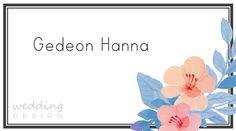 Place card - Ültetőkártya