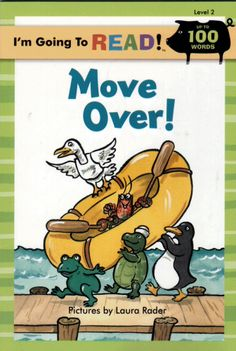 I'm Going to Read! - Level 2 Early Reader - Move Over! - NEW