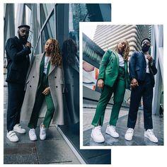 """1,530 mentions J'aime, 53 commentaires - M.Y.S.T (@mesyeuxsurtoi) sur Instagram : """"//• Sneaks & Suits •\\ BRAND NEW ON OUR BLOG!! Aujourd'hui nous revenons sur le blog avec un shoot…"""""""