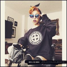 O_O_T_D Repost from @jilly_peppa If you're rocking #ReligionClothing submit your photos with #WeLiveInBlack