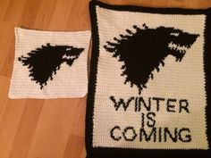 Julia's post about her Game of Thrones crochet blanket! Free crochet patterns included!