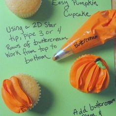 Pumpkin cupcakes!!