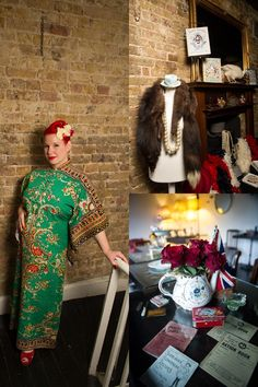 My Vintage Wardrobe: Angel Adoree, Owner Of The Vintage Patisserie