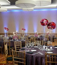 Chicago Marriott Naperville Grand Ballroom Social Set Up Find This Pin And More On Wedding Venues Western Suburbs
