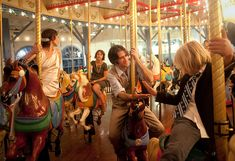 We love this Santa Monica Pier Carousel #wedding! No better way to end the special day than with a ride on the carousel, right?!