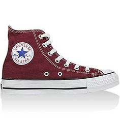 my first pair of chucks were just like these...favorite color, high top...and i'll never forget mr. cutright bought them for me