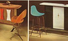 Vintage Home Decorating: 1960s Dining Room Set and Bars   Antique Alter Ego