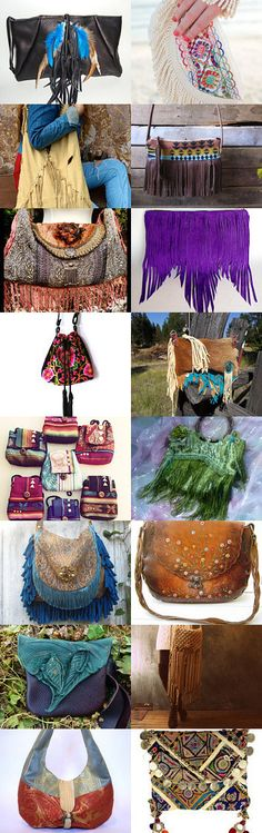 Bohemian Bags by Nancy Duncan on Etsy--Pinned with TreasuryPin.com