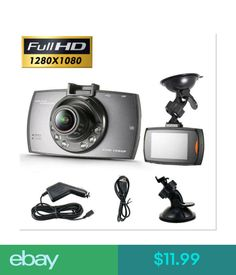 "Digital Video Recorders, Cards Full Hd 1080P 2.4"" Car Dvr Vehicle Camera Video Recorder Night Vision Dash Cam #ebay #Electronics"