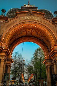 Tivoli Gardens in central Copenhagen