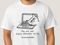 Were you trying to work on your computer? Don't you know that time could be better spent paying attention to the cat? #guygift #forhim #catlover