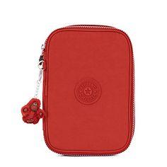 8d2fa62e3 Kipling Women's 100 Pens Case One Size Red Rust Kipling Mochila Para  Notebook, Mochila Kipling