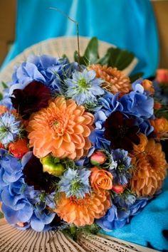 Divine blue and orange