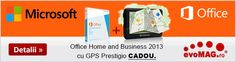 Promotie Microsoft Office Home and Business 2013