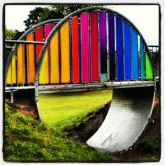 rainbow bridge by @synedrum