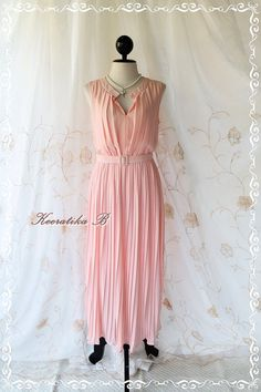 Pastel Romance  Pastel Light Baby Pink by LovelyMelodyClothing, $56.90