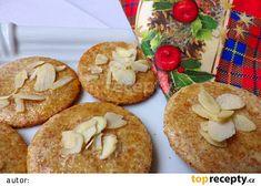 Mandlová kolečka - bez cukru recept - TopRecepty.cz Bagel, Baked Potato, Great Recipes, Muffin, Low Carb, Cooking Recipes, Bread, Baking, Breakfast