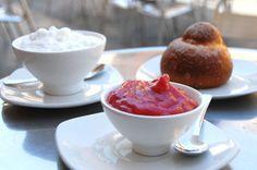 Sorbetto di fragole. (Strawberry sorbet)   Think Sicily