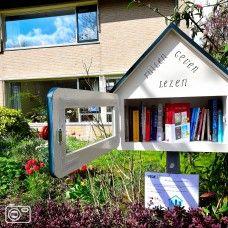 Openbare boekenkast in Leiden