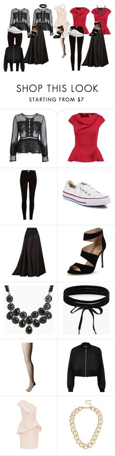 """""""Advanced F&ID Project"""" by emmagiombetti on Polyvore featuring Topshop, Chalayan, River Island, Converse, Lanvin, Carvela, Torrid, Boohoo, Pretty Polly and Monique Lhuillier"""