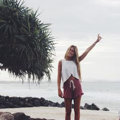 Even cloudy, you are beautiful Australia. outfiy from @saboskirt #australia #ByronBay #newsouthwales