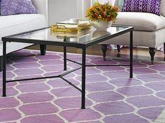Rug - One Living Room, Three Ways  on HGTV