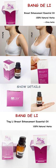 [Visit to Buy] 3 Packs Bang De Li Ting Li Breast Enhancement Essential Oil and Breast enlargement cream 100% Natural Herbs Original #Advertisement