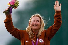 Olympics: Kim Rhode shoots her way into history.