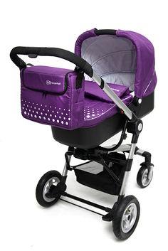 Carucior Kinderkraft 3 in 1 Kraft Purple - eMAG. Baby Strollers, Purple, Children, Baby Prams, Young Children, Boys, Kids, Prams, Strollers