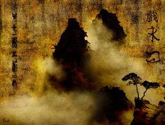 pintura japones antiguo -