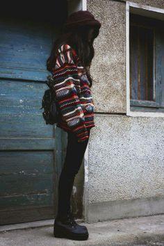 Fall autumn fashion inspiration sweater