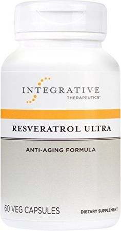 Integrative Therapeutics  Resveratrol Ultra  Anti Aging Formula  60 Capsules -- Learn more by visiting the affiliate link Amazon.com on image.