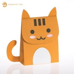 FREE SVG Pumpkin the cat (site supervisor) Favor/FAVOUR Bag