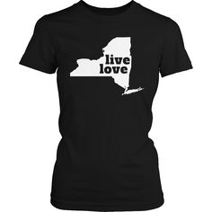 Live Love New York - My State Shirts
