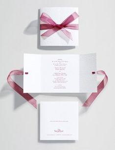 58 Ideas For Diy Wedding Invitations Ribbon Bridal Shower Cheap Wedding Invitations, Diy Invitations, Wedding Stationary, Wedding Invitation Cards, Invitations Online, Diy Wedding Cards, Cricut Wedding, Wedding Koozies, Wedding Napkins